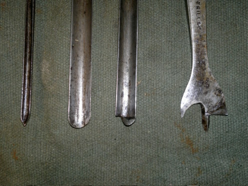 image of archaic bit types front
